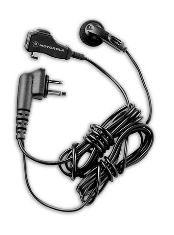 Earbud with Clip Microphone