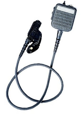 "UHF Public Safety Microphone with 30"" Cord"