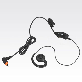 Swivel Earpiece w/ In-Line Microphone and PTT