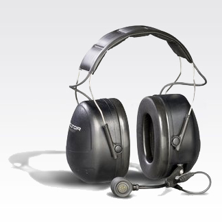 3M Peltor MT Series Over-The-Head Headset with Direct Radio Connect