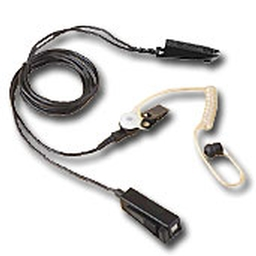 Black Surveillance Kit with Extended-Wear Comfort Piece